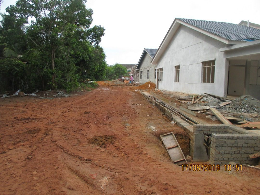 Taman Kurau, Teluk Kemang In Progress
