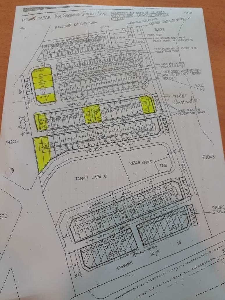 Master Plan Taman Gerbang Siputih Sari