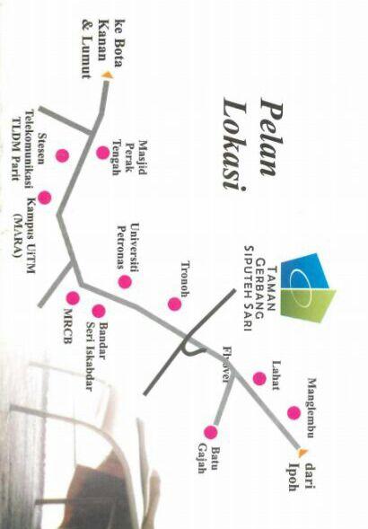 Lokasi Taman Gerbang Siputih Sari